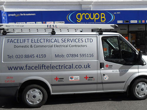 Facelift Electrical Van